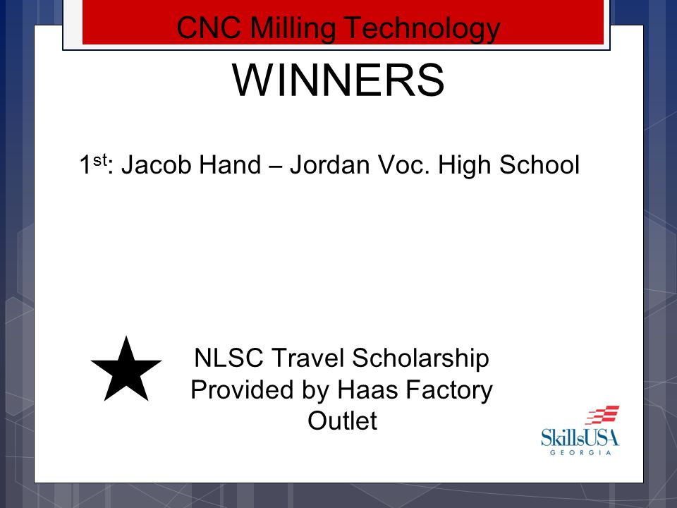WINNERS CNC Milling Technology