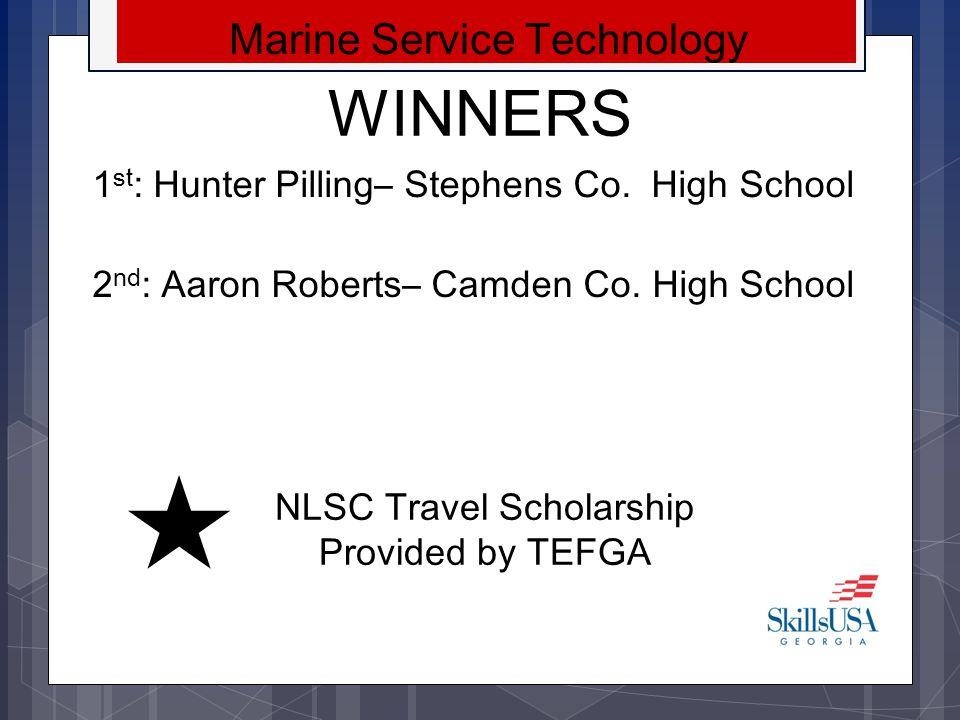 WINNERS Marine Service Technology