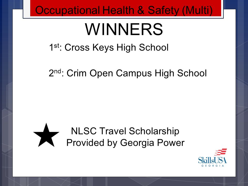 WINNERS Occupational Health & Safety (Multi)