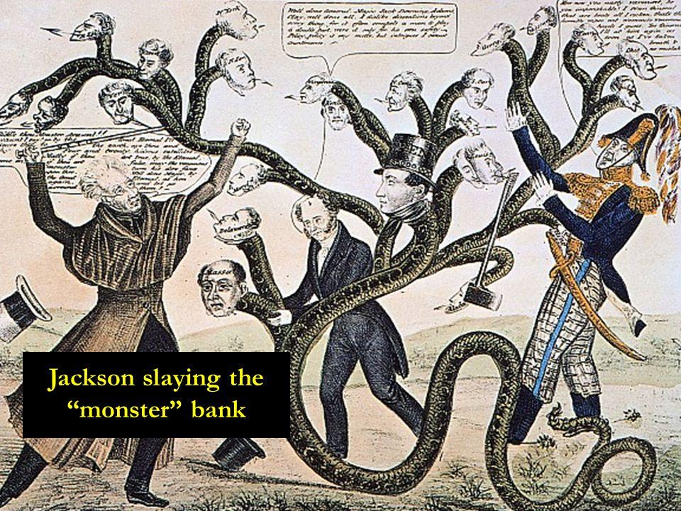 Jackson slaying the monster bank