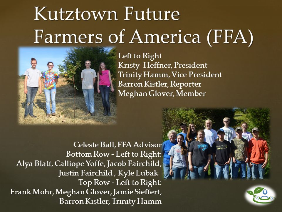 Kutztown Future Farmers of America (FFA)