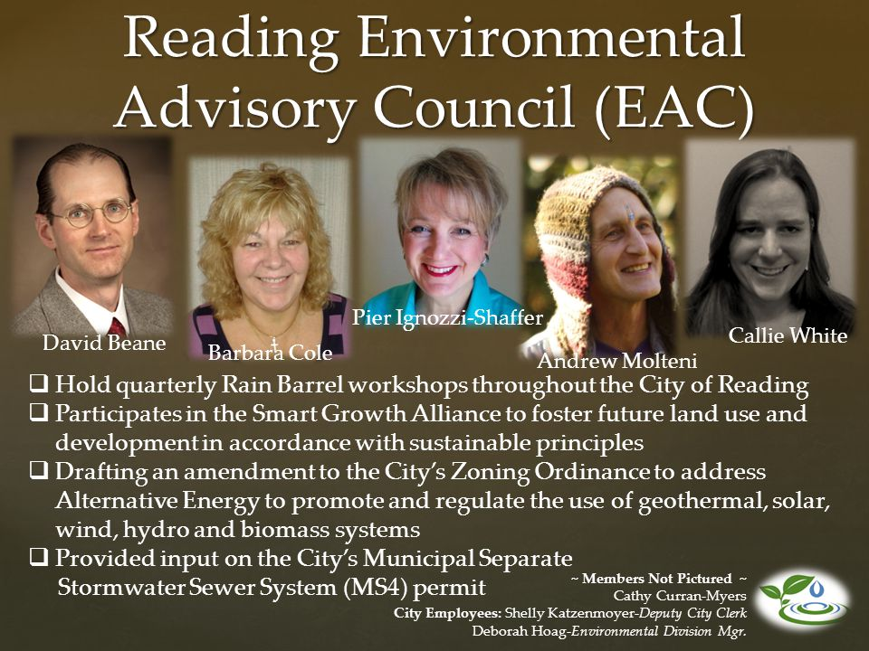 Reading Environmental Advisory Council (EAC)