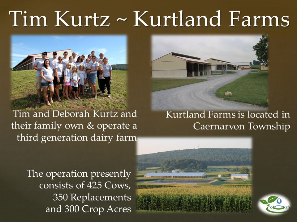 Tim Kurtz ~ Kurtland Farms