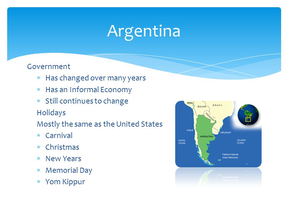 Argentina Government Has changed over many years