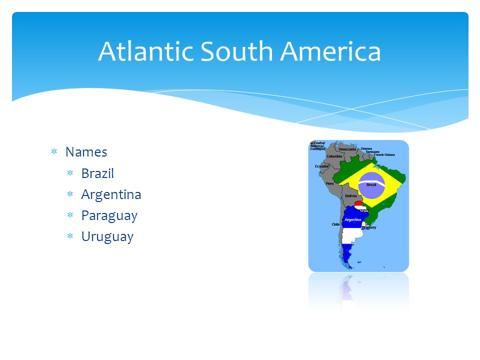 Atlantic South America