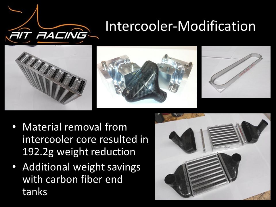 Intercooler-Modification