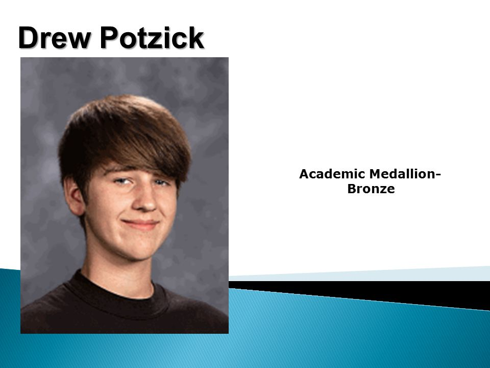 Drew Potzick Academic Medallion- Bronze