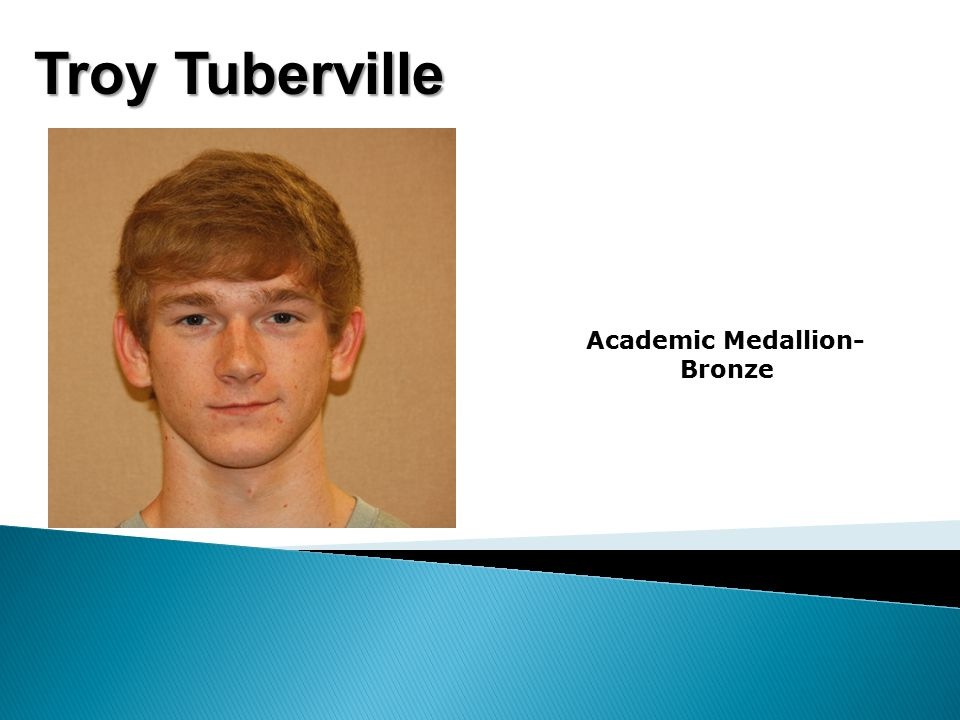 Troy Tuberville Academic Medallion- Bronze