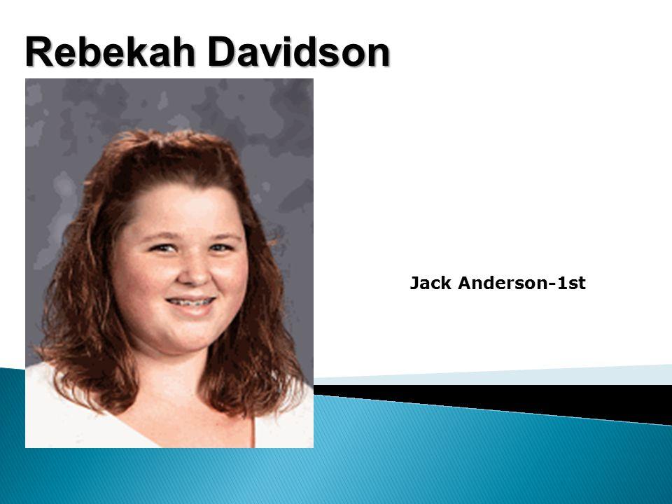 Rebekah Davidson Jack Anderson-1st