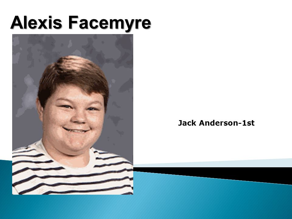 Alexis Facemyre Jack Anderson-1st