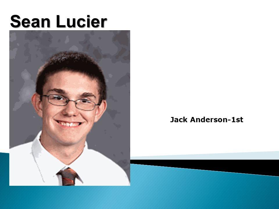 Sean Lucier Jack Anderson-1st