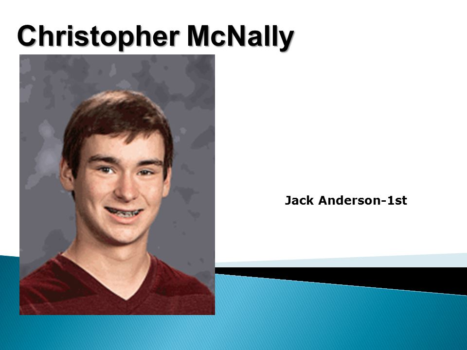 Christopher McNally Jack Anderson-1st