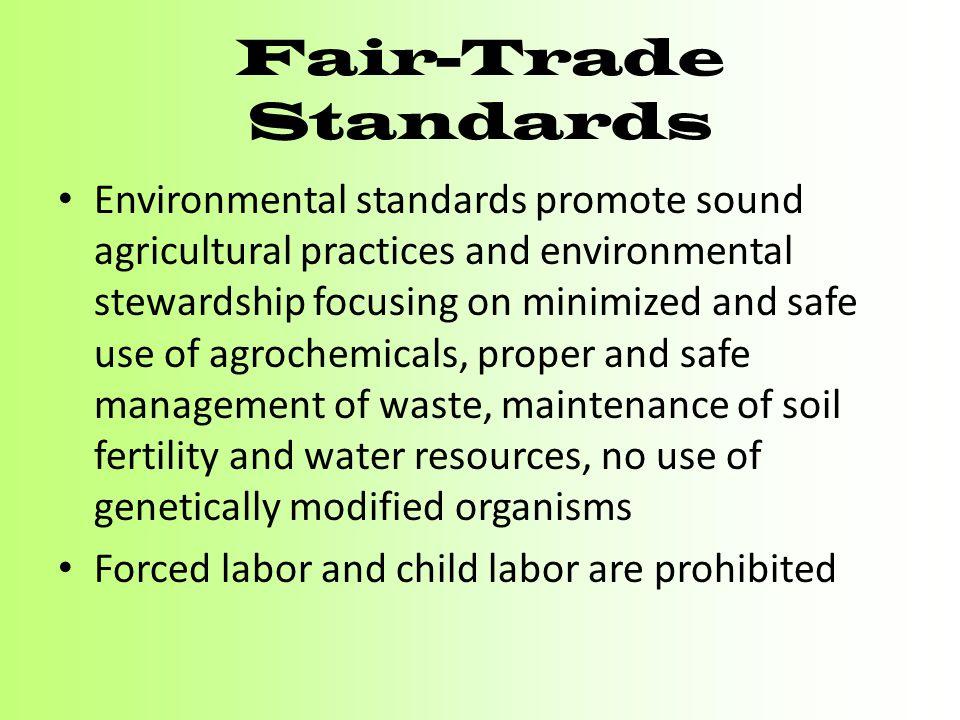 Fair-Trade Standards