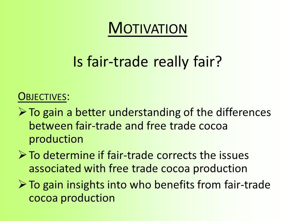 Is fair-trade really fair
