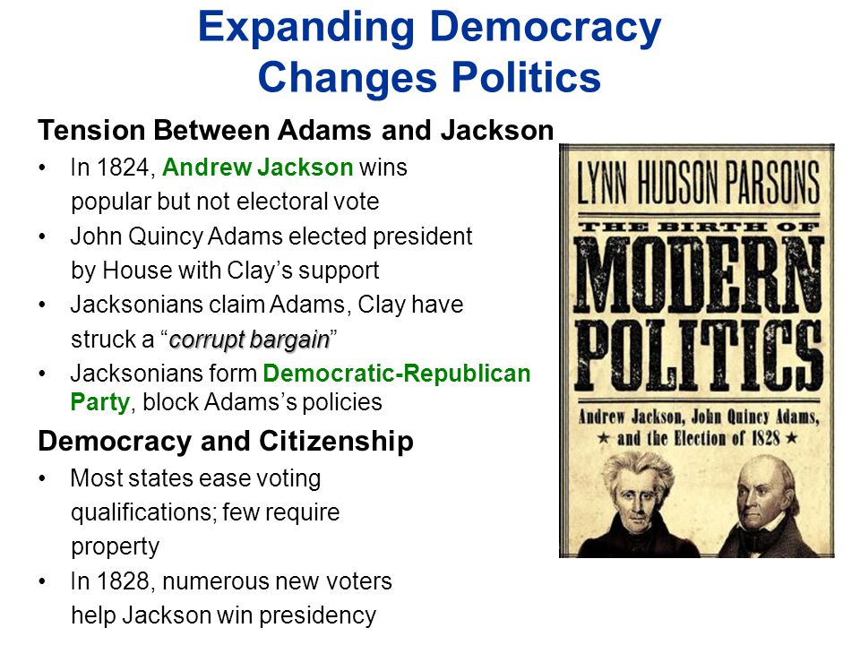Expanding Democracy Changes Politics