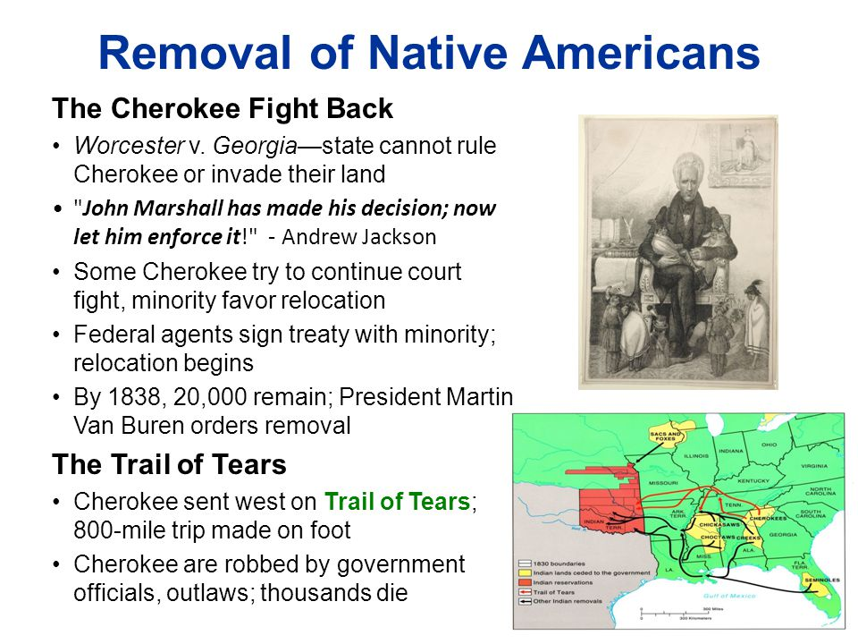 Removal of Native Americans