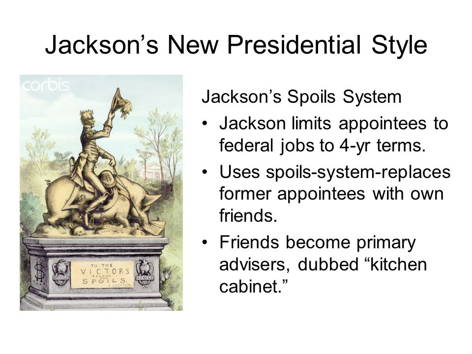 Jackson's New Presidential Style