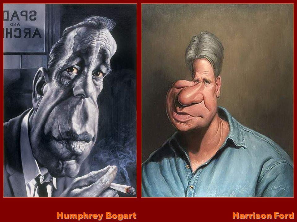 Humphrey Bogart Harrison Ford