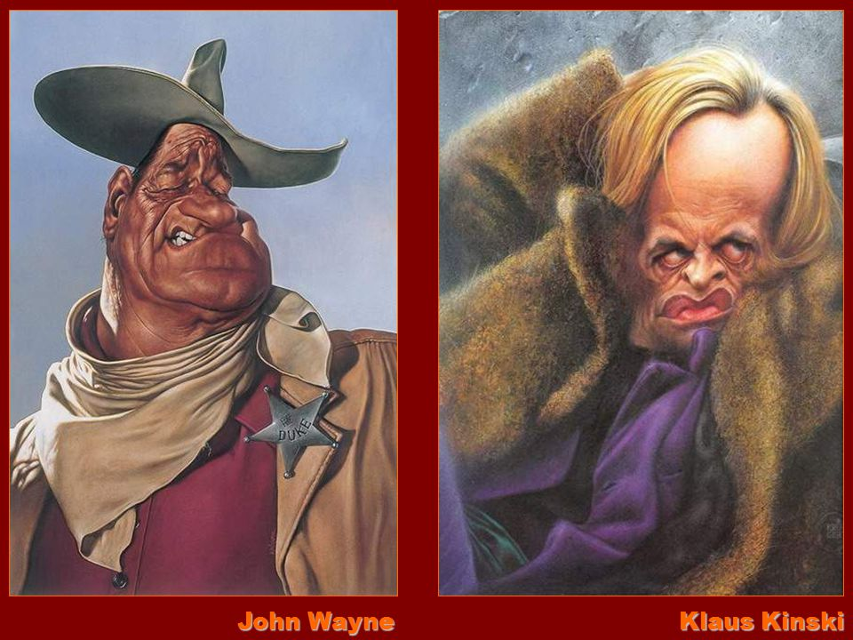 John Wayne Klaus Kinski