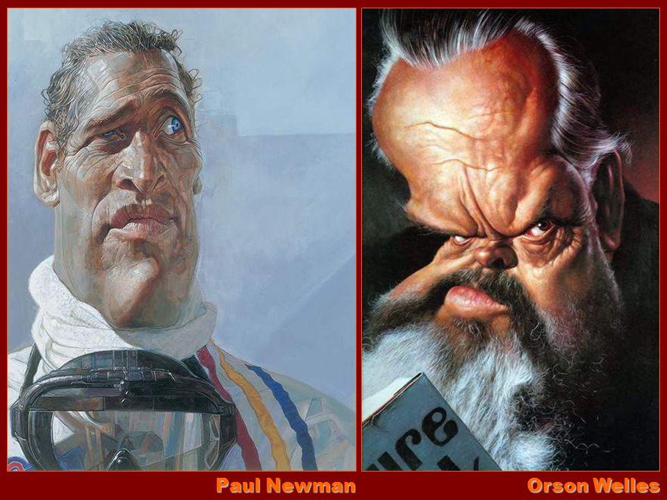 Paul Newman Orson Welles
