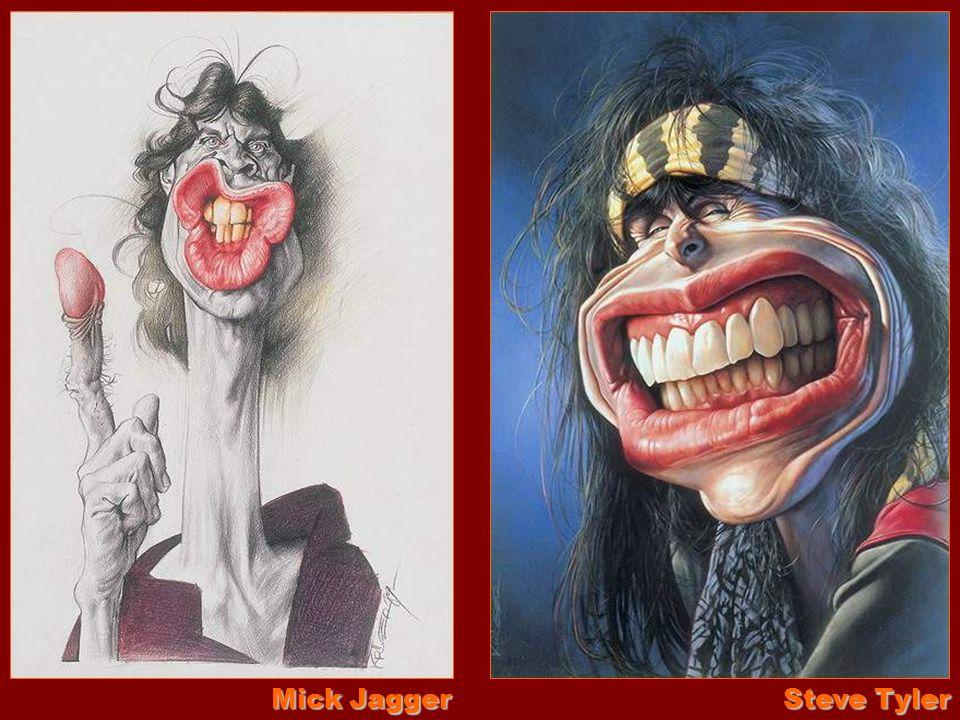 Mick Jagger Steve Tyler