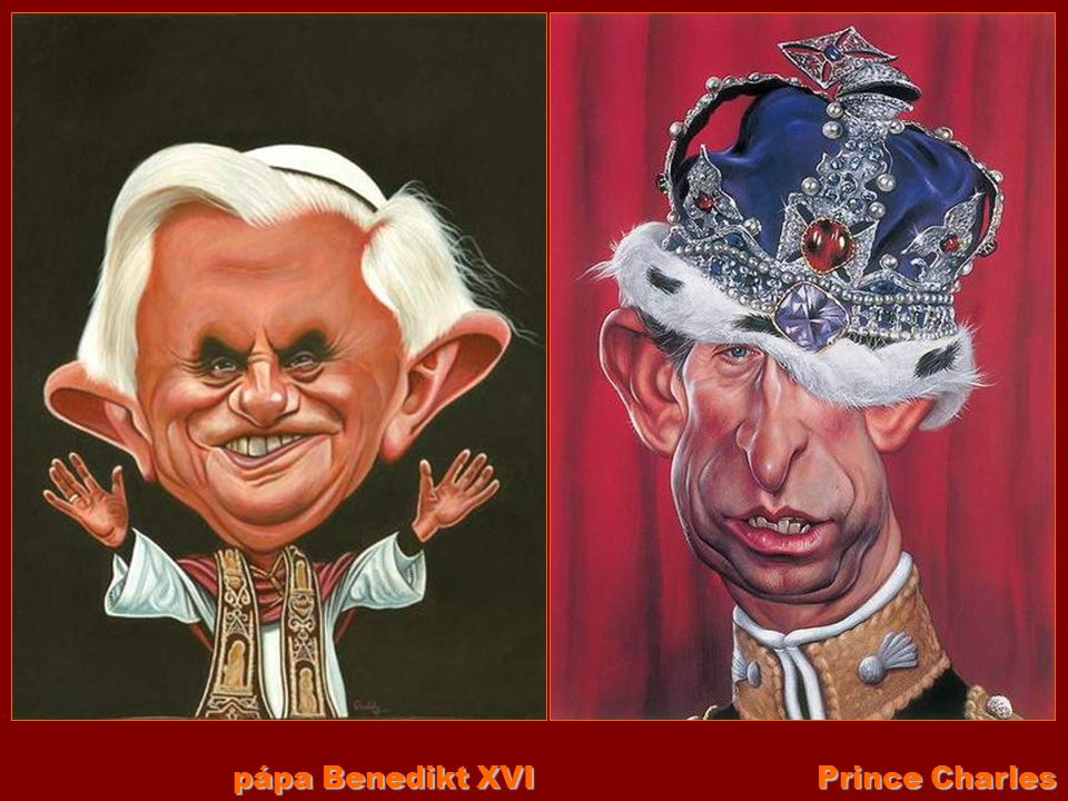 pápa Benedikt XVI Prince Charles