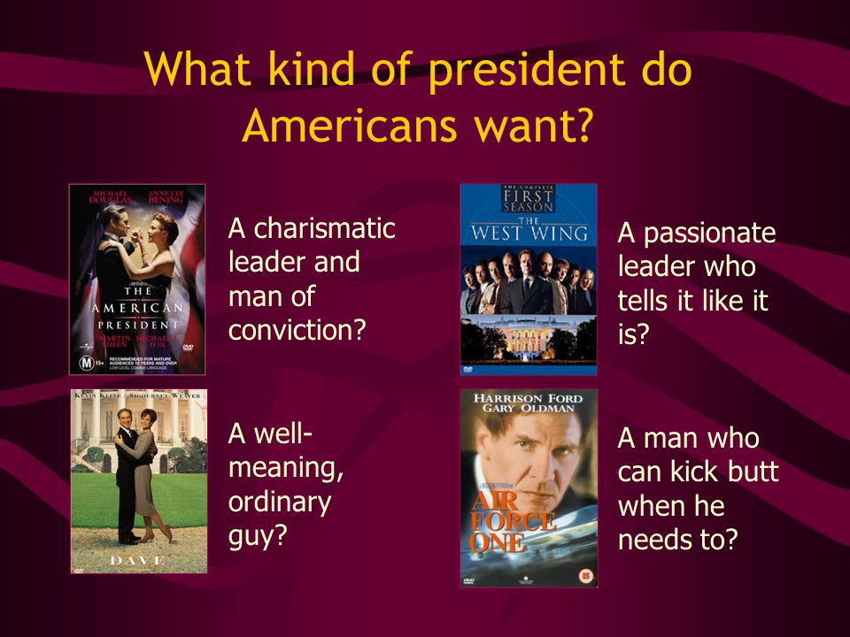What kind of president do Americans want