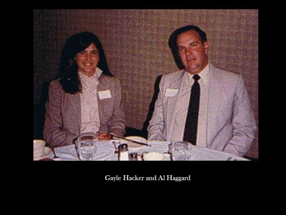 Gayle Hacker and Al Haggard