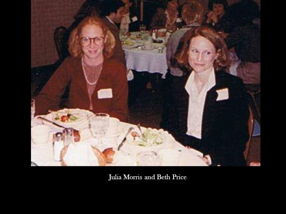 Julia Morris and Beth Price