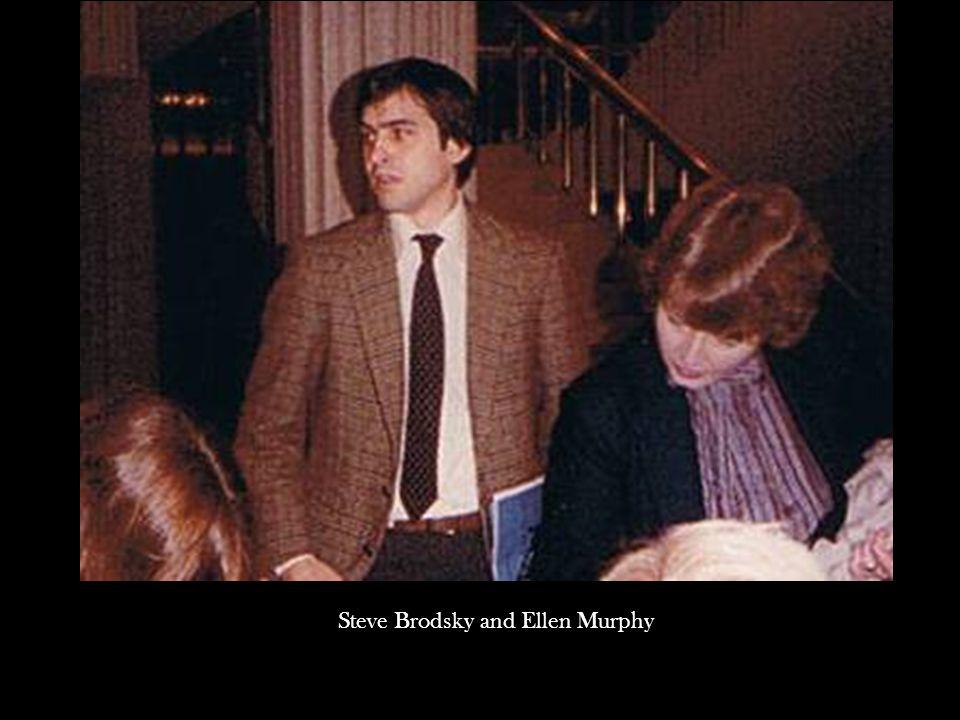 Steve Brodsky and Ellen Murphy