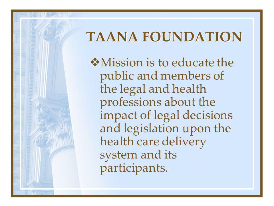 TAANA FOUNDATION