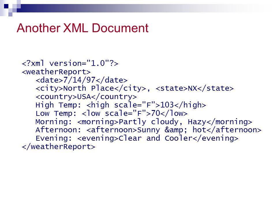 Another XML Document