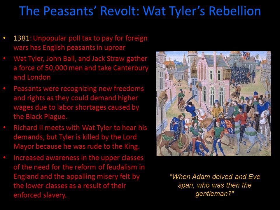 The Peasants' Revolt: Wat Tyler's Rebellion