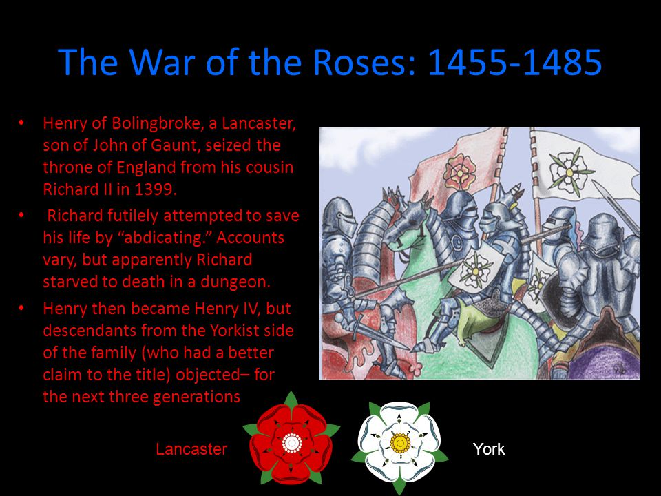 The War of the Roses: 1455-1485
