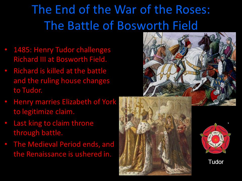 The End of the War of the Roses: The Battle of Bosworth Field