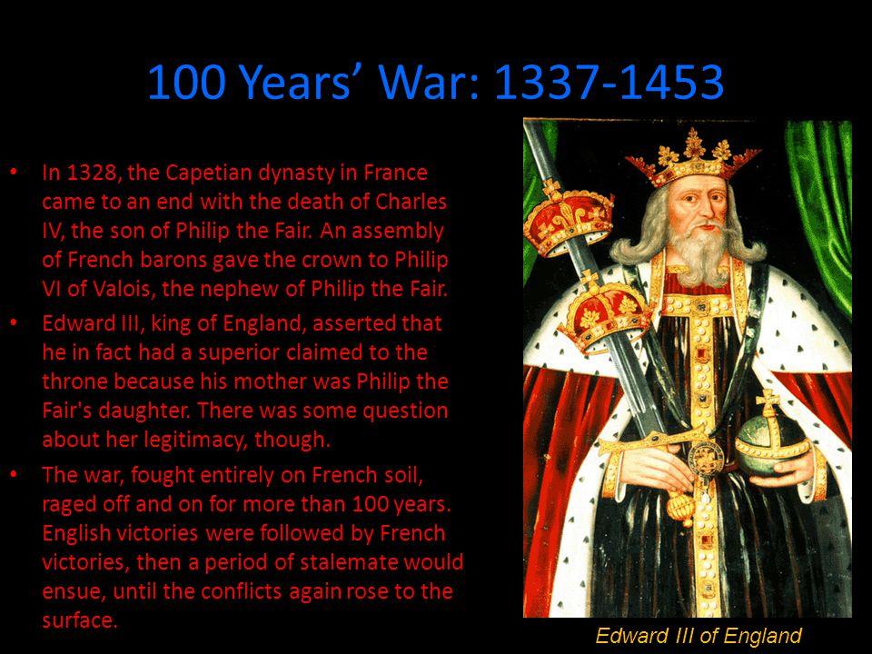100 Years' War: 1337-1453