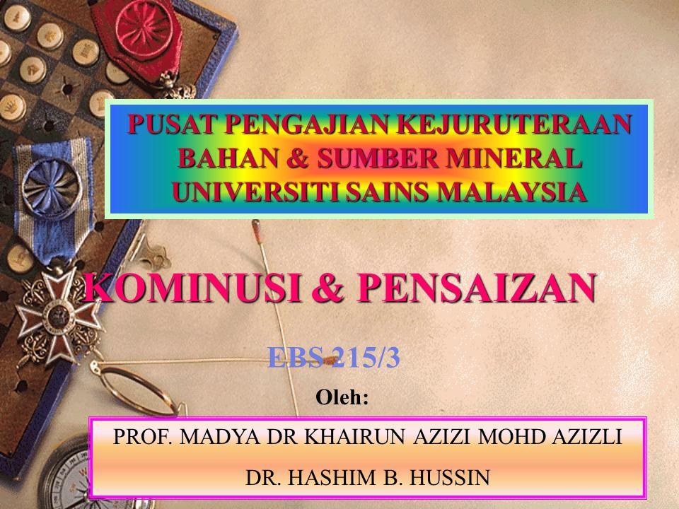 PROF. MADYA DR KHAIRUN AZIZI MOHD AZIZLI