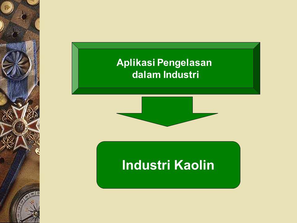 Aplikasi Pengelasan dalam Industri Industri Kaolin