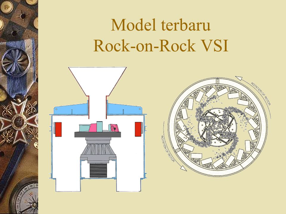 Model terbaru Rock-on-Rock VSI