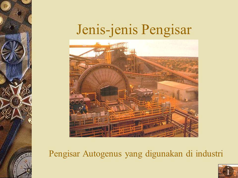 Pengisar Autogenus yang digunakan di industri