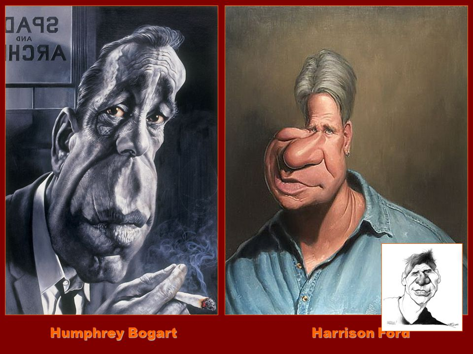 Humphrey Bogart Harrison Ford