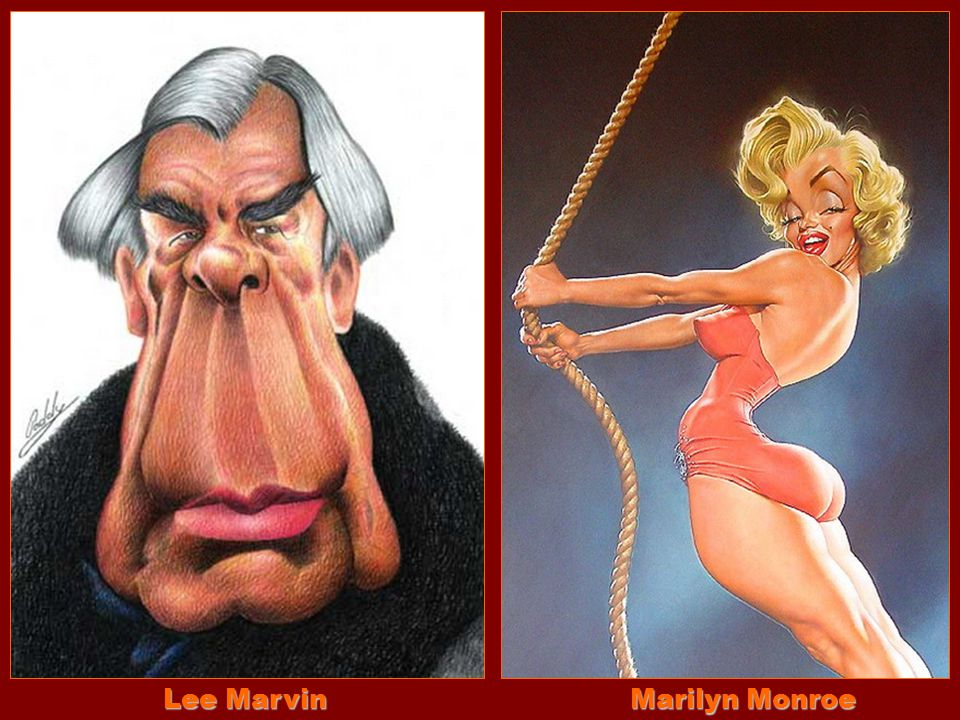 Lee Marvin Marilyn Monroe