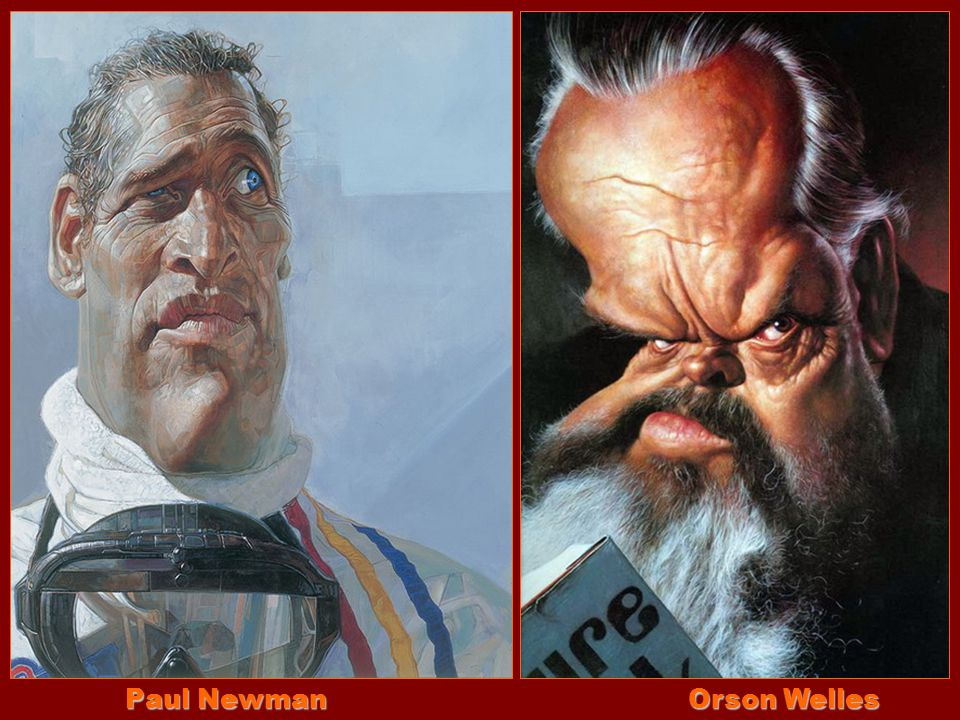 Paul Newman Orson Welles