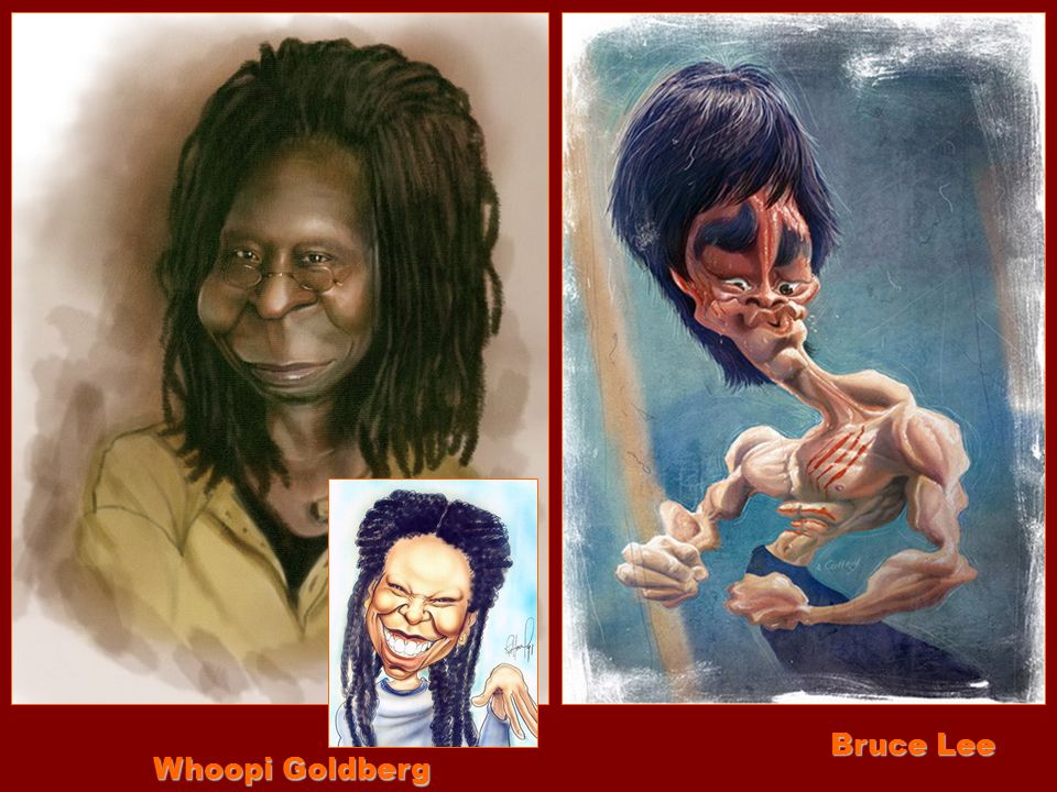 Bruce Lee Whoopi Goldberg