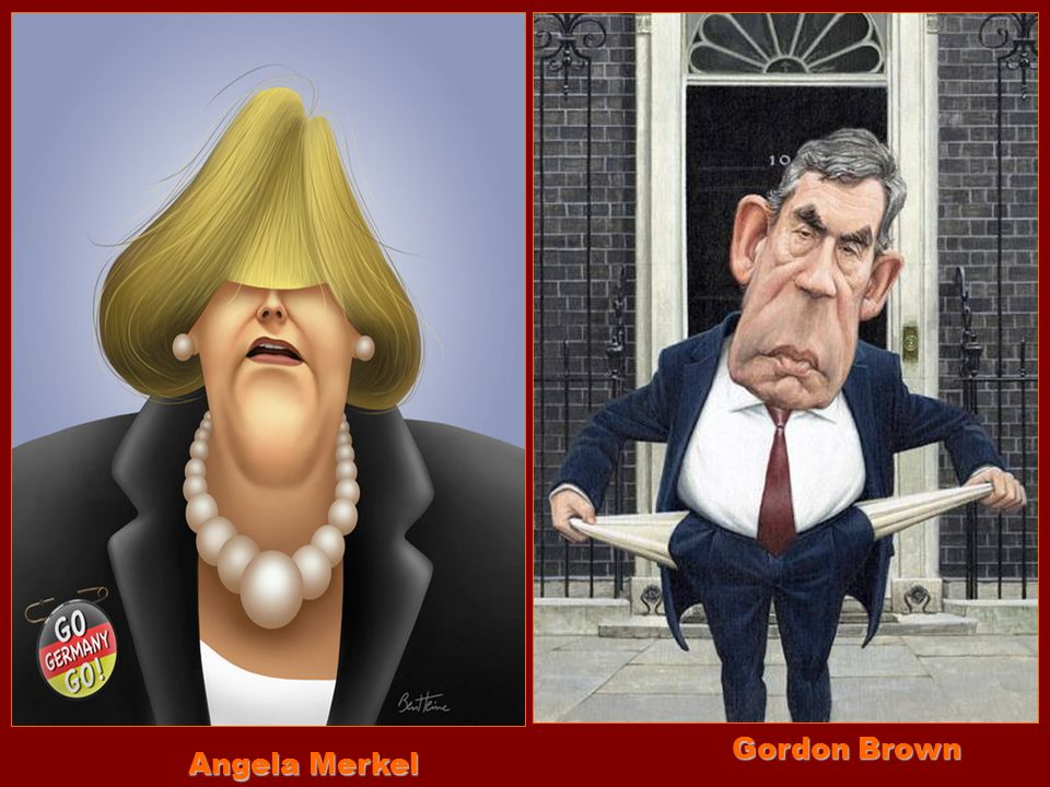 Gordon Brown Angela Merkel