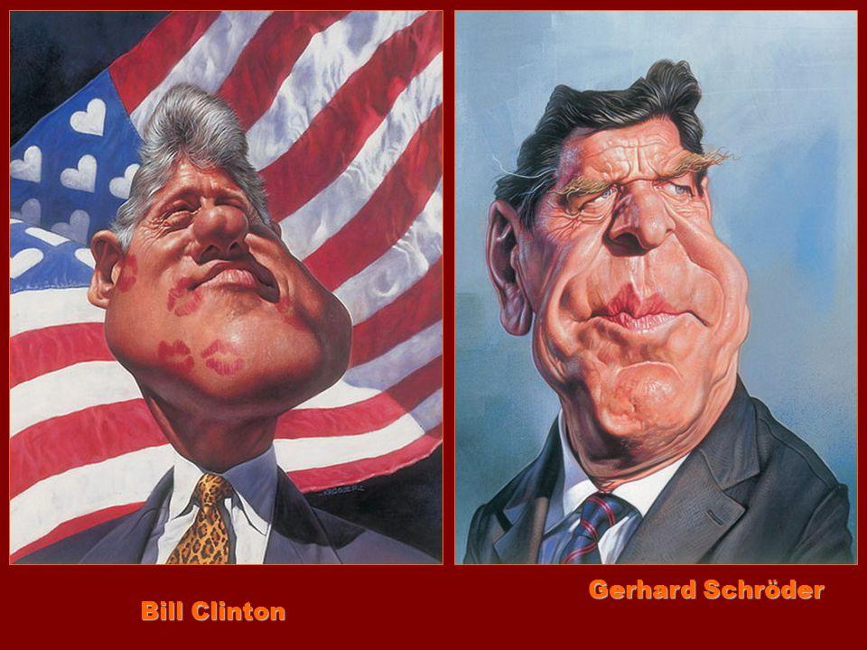 Gerhard Schröder Bill Clinton