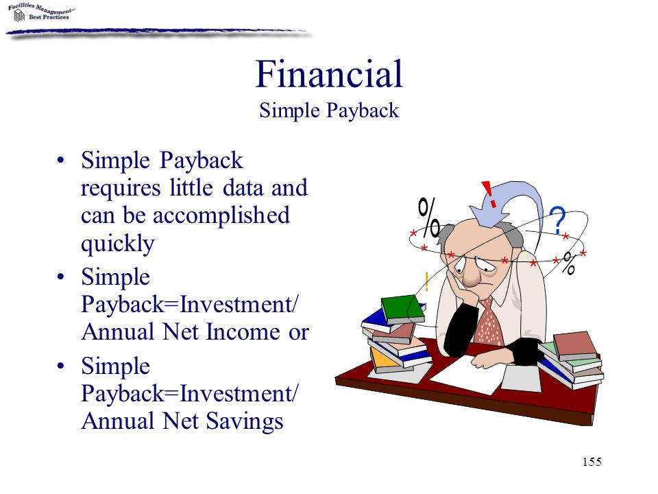 Financial Simple Payback