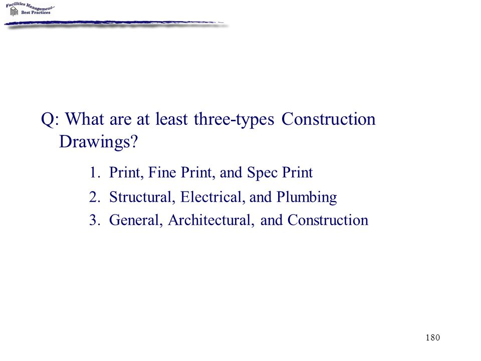 1. Print, Fine Print, and Spec Print