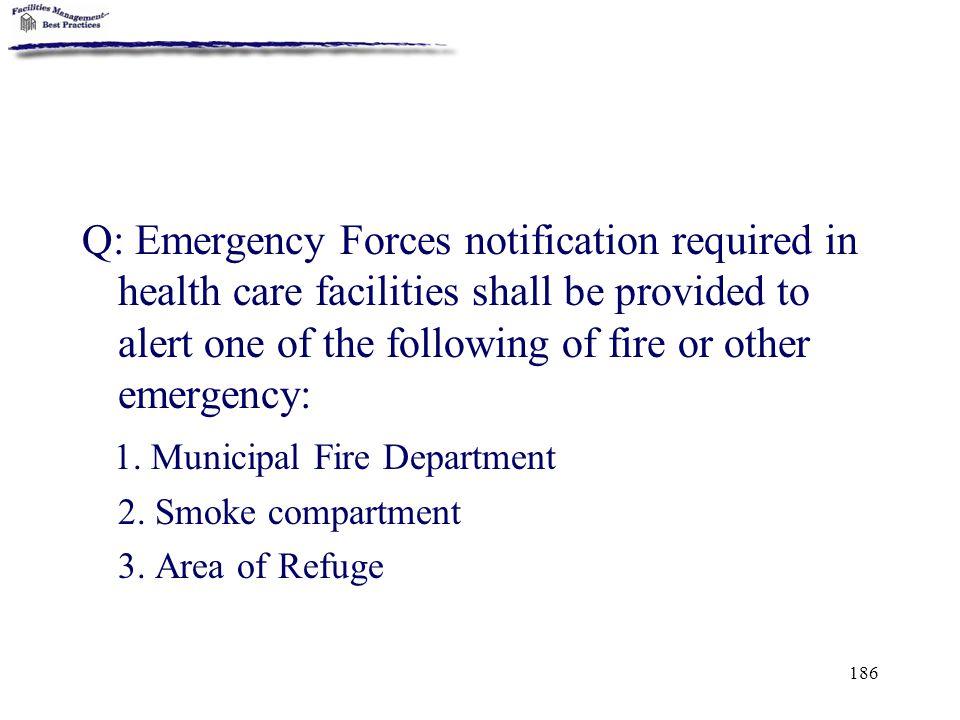 1. Municipal Fire Department