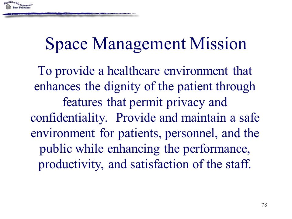 Space Management Mission